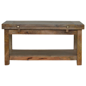 The Artisan Collection - Artisan Trilogy Coffee Table with Single Shelf