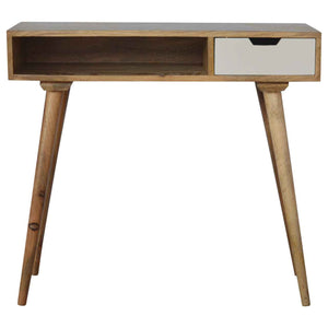 The Artisan Collection - Hand Made Painted Writing Desk with Open Slot