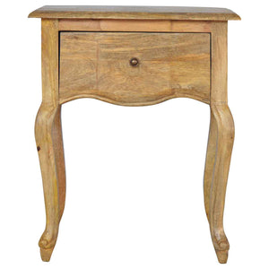 The Artisan Collection - Handmade French Style Single Drawer Bedside Table