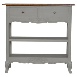 The Artisan Collection - Two Drawer Handpainted Console Table