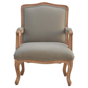 The Artisan Collection - French Style Upholstered Arm Chair