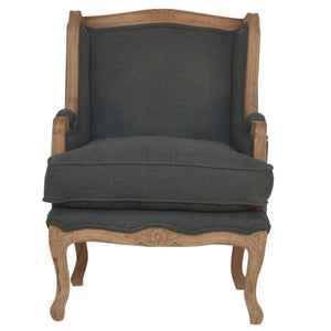 The Artisan Collection - French Style Wing Arm Chair