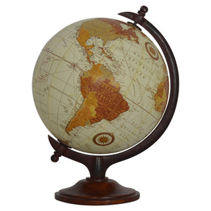 The Artisan Collection - Small Vintage Globe