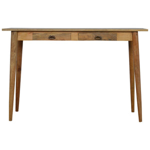 The Artisan Collection - Nordic Style Writing Desk with Two Drawers