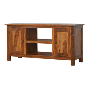 The Artisan Collection - Hand Made Two Door Two Open Slot Media Unit