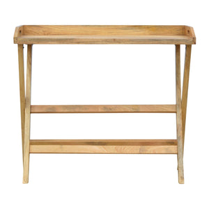 The Artisan Collection - Butler Style Writing Desk with Foldable Legs