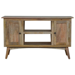 The Artisan Collection - Media Unit with Two Cabinets and Two Drawers