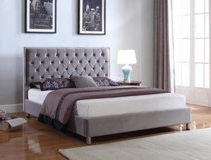 The Izabel Range - Velvet King size Bed