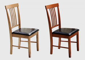 The Massa Range - Mahogany Solid Wood Dining Chairs