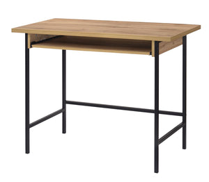 The Michigan Range - Oak Effect Metal Frame Desks