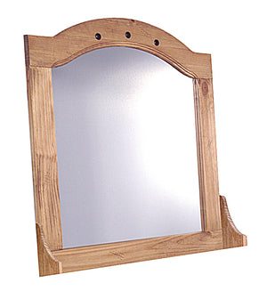 The Corona Range - Solid Pine Mirror