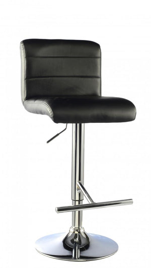 The Molly Range - Black Chrome  Bar Stool