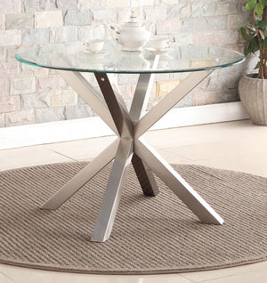 The Nelson Range - Stainless Steel Dining Table