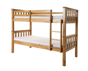 The Porto Range - Solid Pine Bunk Bed