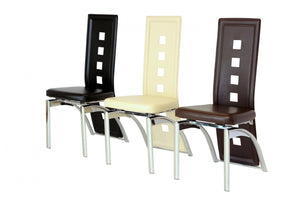 The San Range - Chrome Dining Chairs