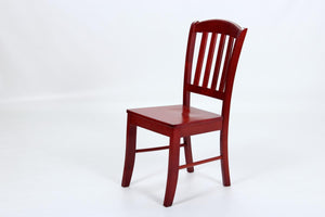 The Southall Range - Red Mahogany Natural Wood Dining Chairs