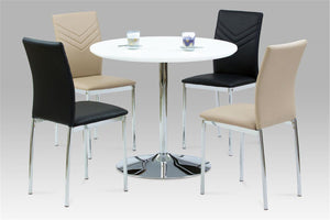 The Sylvia Range - White High Gloss Dining Set