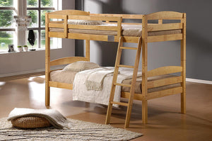 The Tripoli Range - Natural Solid Wood Bunk Bed