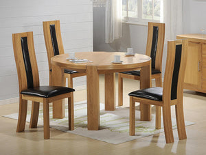 The Zeus Range - Solid Oak Dining Set