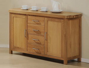 The Zeus Range - Solid Oak Sideboard