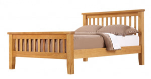 The Acorn Range - Solid Oak Double Bed