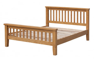 The Acorn Range - Solid Oak King size Bed