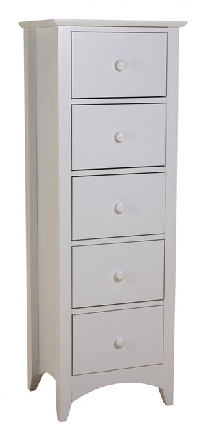 The Chelsea Range - White Solid Wood Chest of Drawers