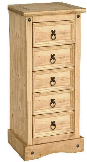 The Corona Range - Solid Pine Chest of Drawers