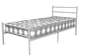 The Leanne Range - Metal Double Bed