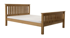 The Manila Range - Solid Pine King size Bed
