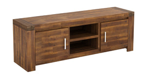The Parkfield Range - Acacia Solid Wood Media Unit
