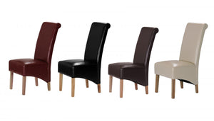The Trafalgar Range - Solid Rubberwood Dining Chairs