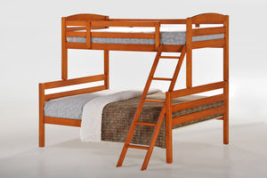 The Tripoli Range - Cherry Solid Wood Bunk Bed