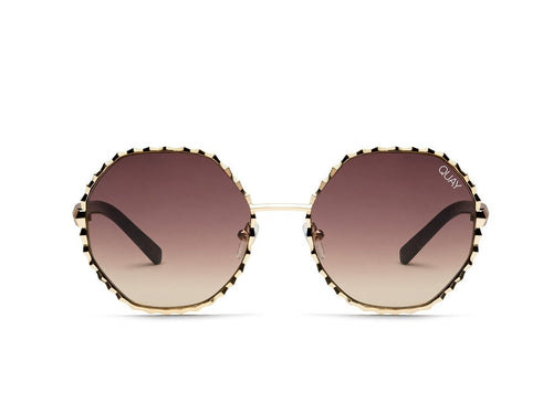 Breeze In Sunnies - Gold/Brwn