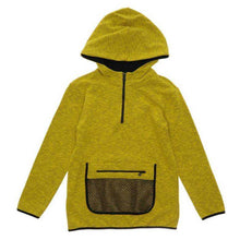 Load image into Gallery viewer, BOYS YELLOW HOODED SWEAT SHIRT