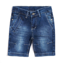 Load image into Gallery viewer, Blue denim shorts