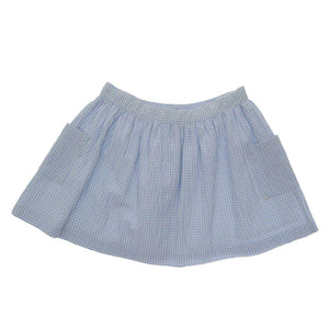 GIRLS SUMMER BLUE SKIRT