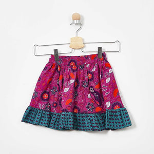 GIRLS MAROON SKIRT