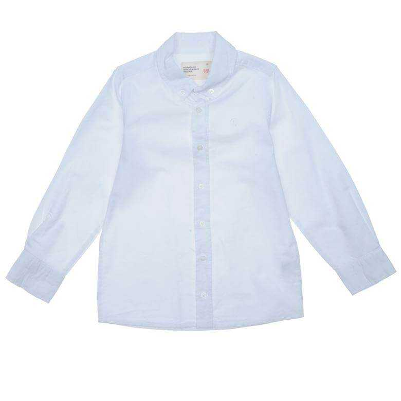 BOYS WHITE OXFORD STYLE SHIRT