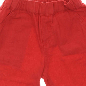 BERMUDA RED SHORTS