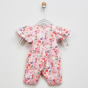Full of flowers pink jumpsuit