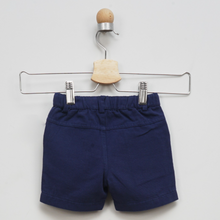 Load image into Gallery viewer, Navy drawstring shorts