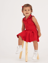 Load image into Gallery viewer, Red tennis dress