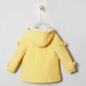 GIRLS YELLOW RAINCOAT