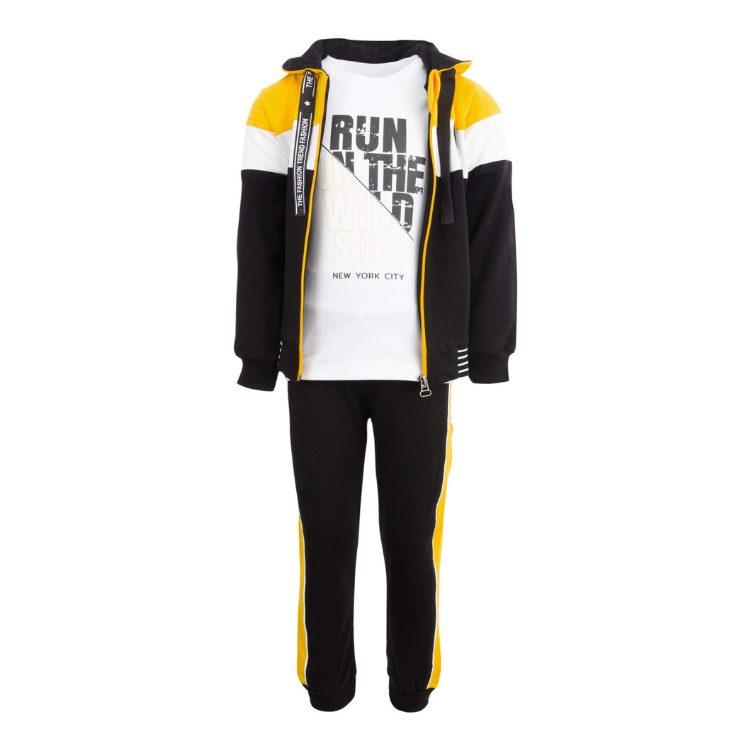 NEW YORK 3 PIECE TRACKSUIT SET