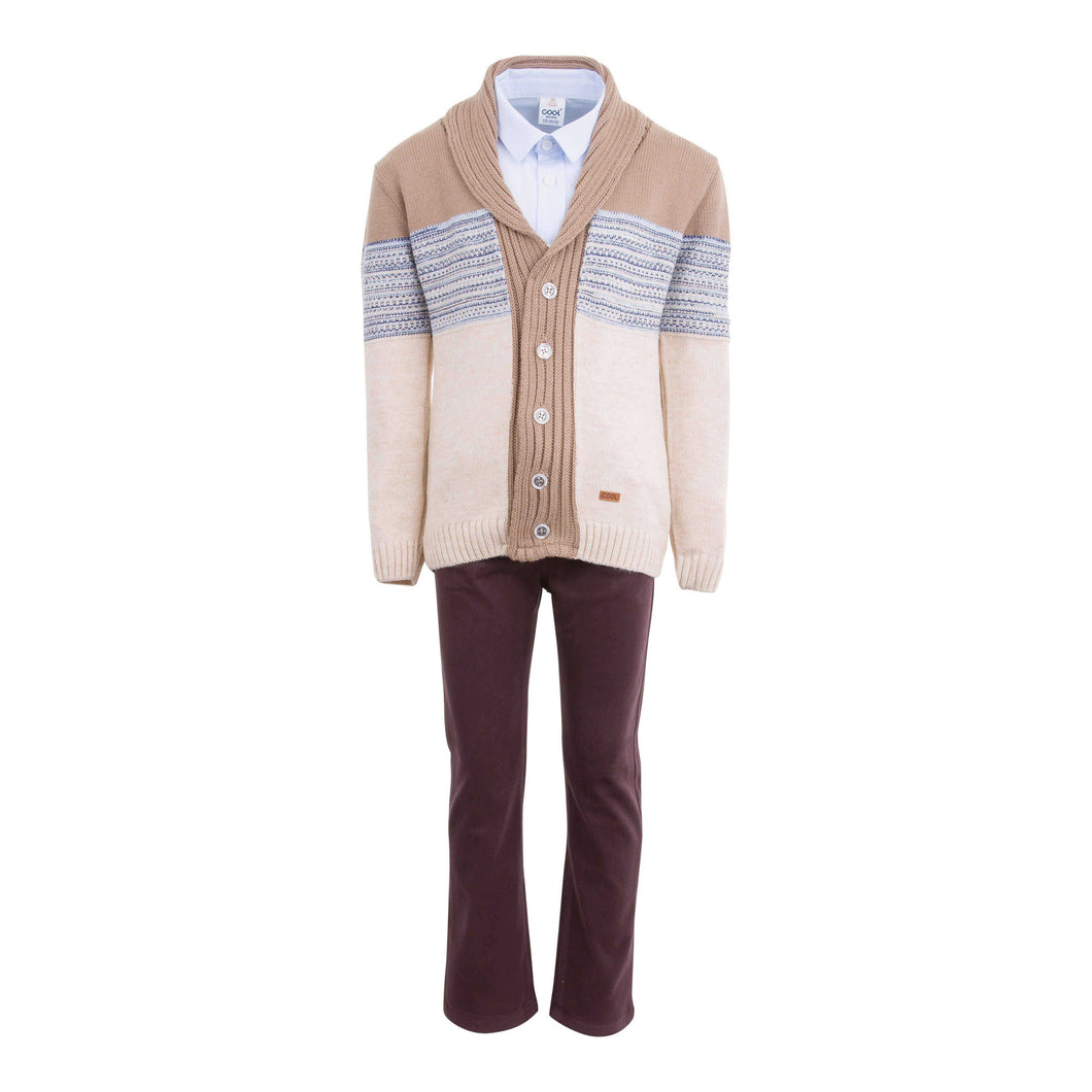 TIMBER 4 PIECE OUTFIT BEIGE