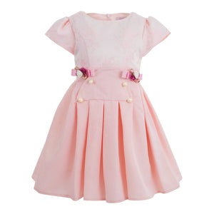 JOLANDA GIRLS 3 PIECE PINK POWDER DRESS