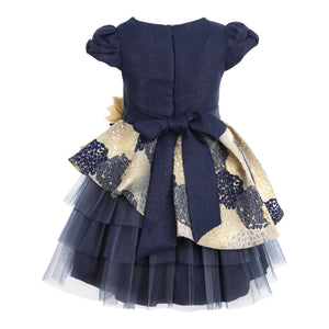 JOLANDA GIRLS NAVY BLUE DRESS
