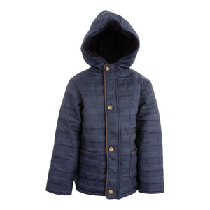 BOYS WINTER COAT NAVY BLUE