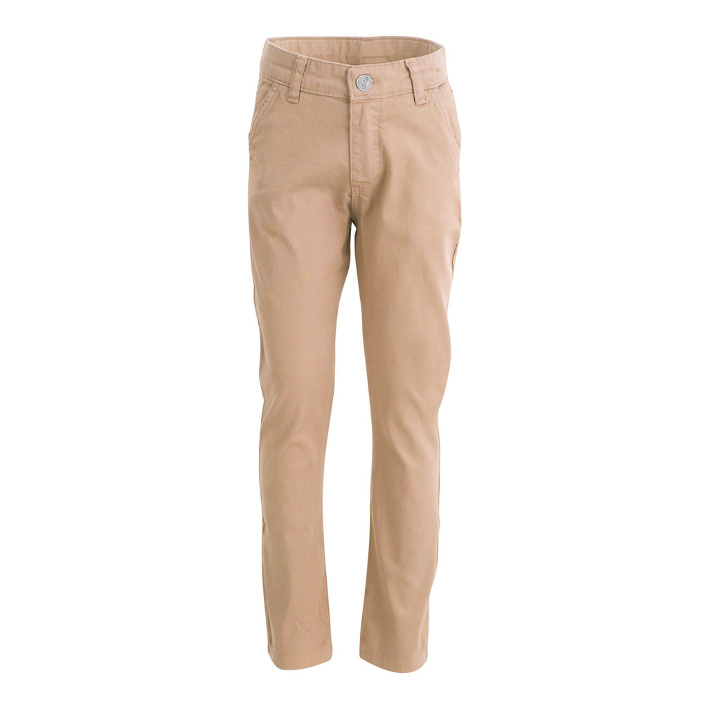 BOYS CHINO PANTS CAMEL